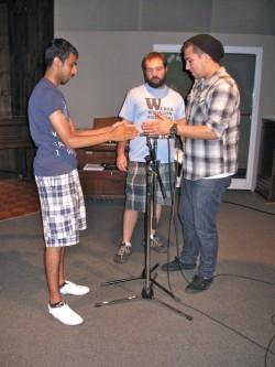 Microphone Setup