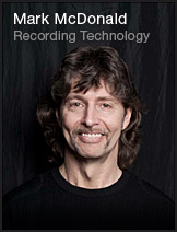 Mark McDonald - Recording Technology