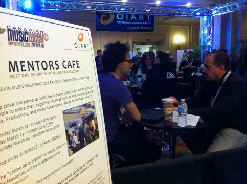 OIART Mentor's Cafe - CMW 2012