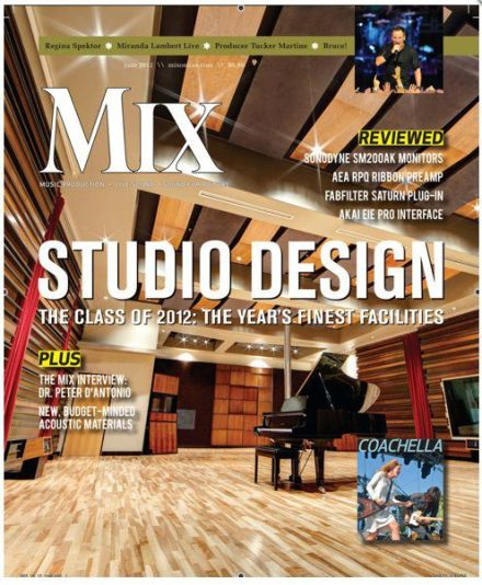 Revoultion Recording - Mix Magazine